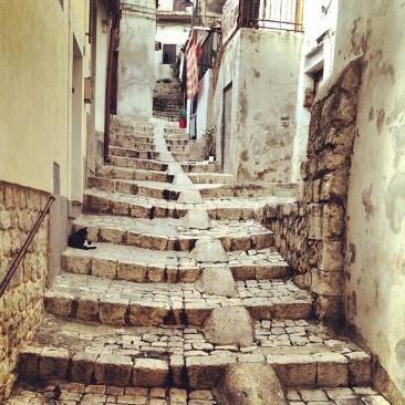 Scicli, vie del centro storico