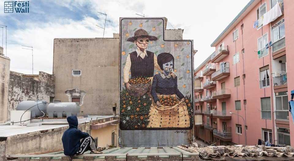 pixel_pancho_street_art_artist_festiwall_ragusa_murales