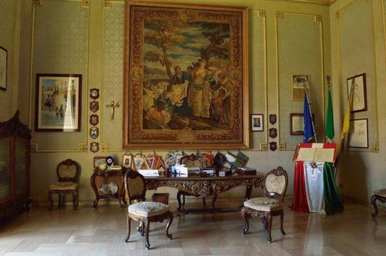 Stanza di Montalbano, ufficio del sindaco di Scicli