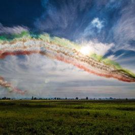 A Donnalucata volano le Frecce Tricolore